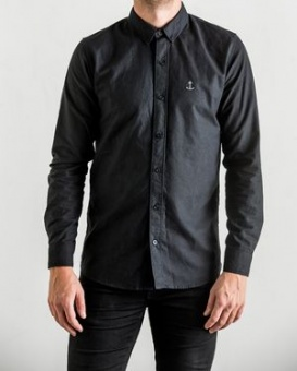 Herrman Oxford Shirt Black