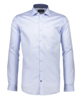 Solid Twill Shirt Light Blue