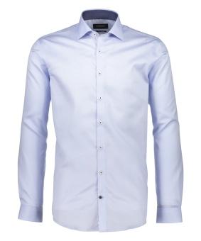Solid Twill Shirt Light Blue