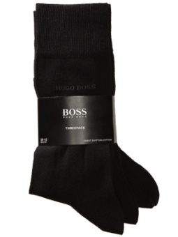 Hugo Boss 3-pack socks black