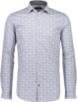 Aop Twill Shirt Light Blue