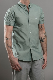 Herrman SS Shirt Mint Green