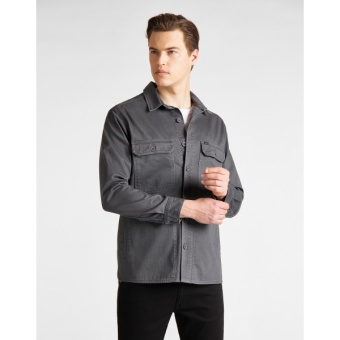 Workwear Overshirt Steel Grey