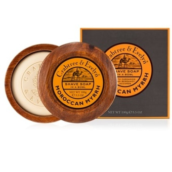 Shave Soap Bowl Moroccan Myrrh