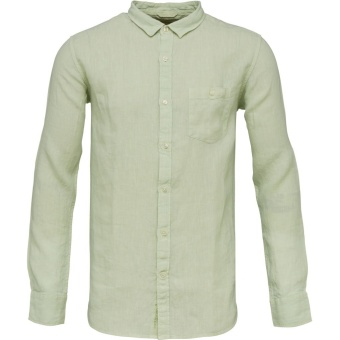 Garment Dyed Linen Shirt SesCreast