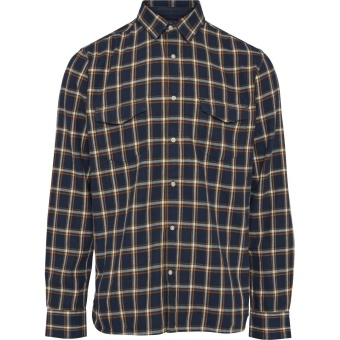 Flannel Checked Shirt Total Eclipse