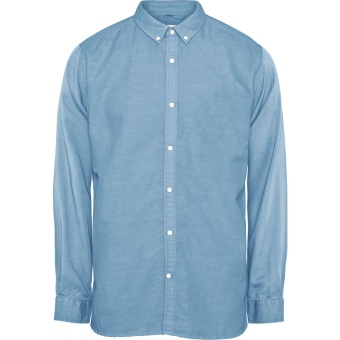 Cotton Linen Shirt Heritage Blue