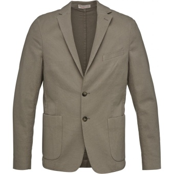 Structured Blazer Feather Gray