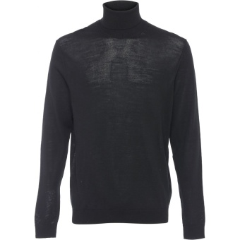 Wool Roolneck Black
