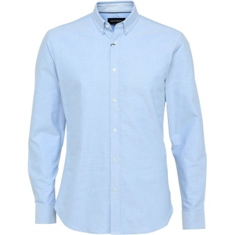 Oxford Plain Light Blue
