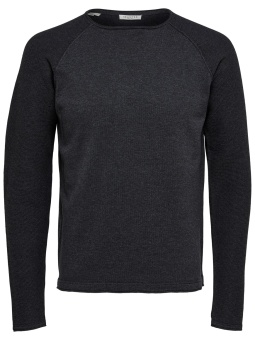 Carter Crew Neck Black