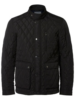 Elton Quilted Jkt Black
