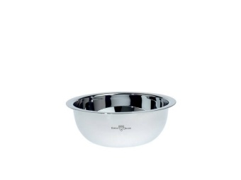 Shaving Soap Bowl Silver