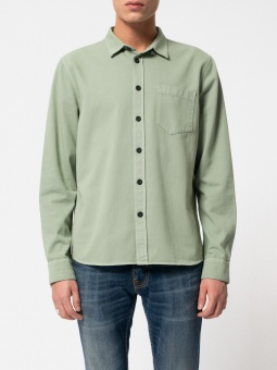 Henry Pigment Dyed Pale Green