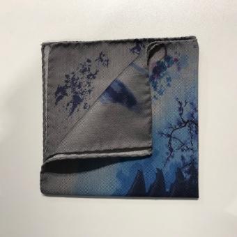 Pocket Square Kyoto Blue