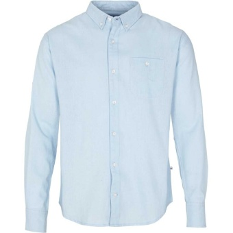 Johan Linen Shirt Light Blue