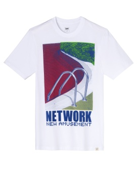 Photographic Tee White