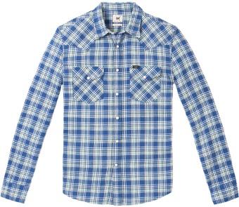 Western Shirt Workwear Blue