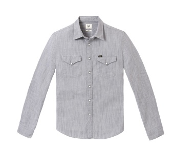 Western Shirt Alloy Grey