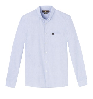 Button Down Light Blue