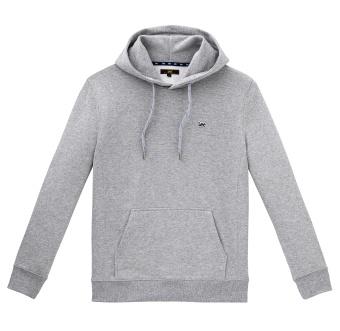 Hoodie Sws Grey Mele