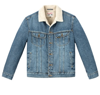 Sherpa Jacket Vintage Worn