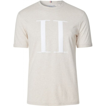 Encore T-Shirt Light Brown/White