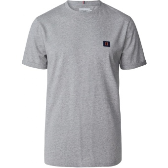 Piece T-Shirt Light Grey Melange