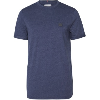 Piece T-Shirt Royal Blue/Blue Fog