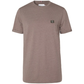Piece T-Shirt Brown Mel/Dark Green