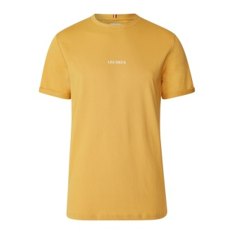 Lens T-Shirt Yellow/White