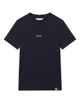 Lens T-Shirt Dark Navy/White