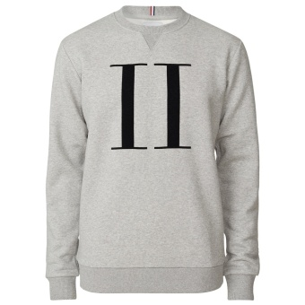 Encore Sweatshirt Grey Mel/Black