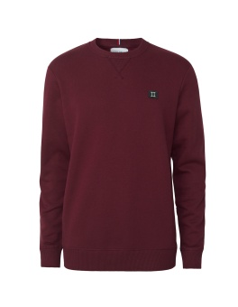 Piece Sweatshirt Burgundy/Charcoal