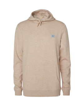Piece Hoodie Light Brown/Dust Blue