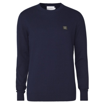 Etienne Cashton Knit Dark Navy/Dark Green