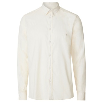 Simon Linen Shirt Off White