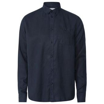 Laurent Tencel Shirt Dark Navy