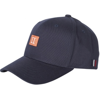 Piece Baseball Cap Dark Navy/Papaya