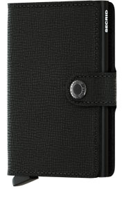 Miniwallet Crisple Black