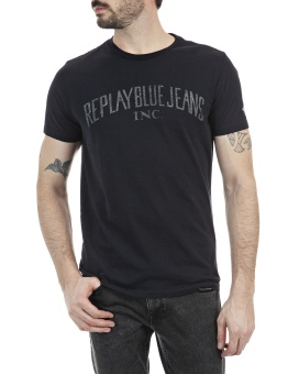 Replay Blue Jeans T-Shirt Black