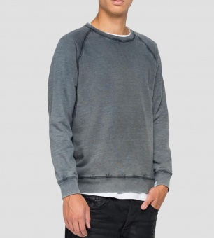 Essential Crewneck Sweatshirt Dark Blue
