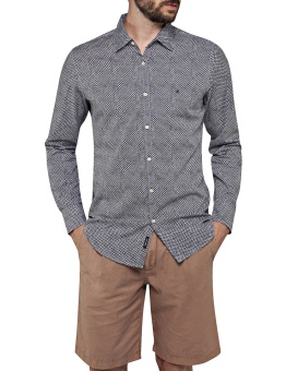 Printed Dobby Shirt