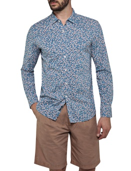 Replay Flower Printed Shirt