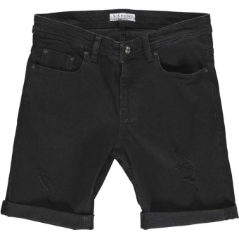 Mike Shorts Tape Black