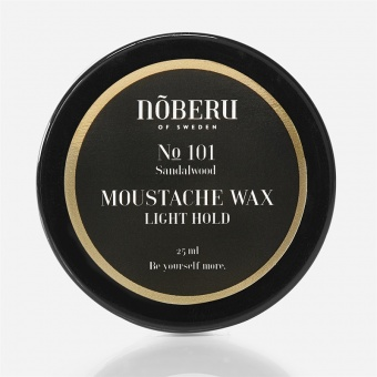 Moustache Wax Light Hold Sandalwood