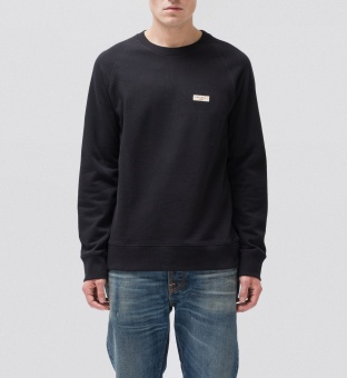 Samuel Logo Sweat Black