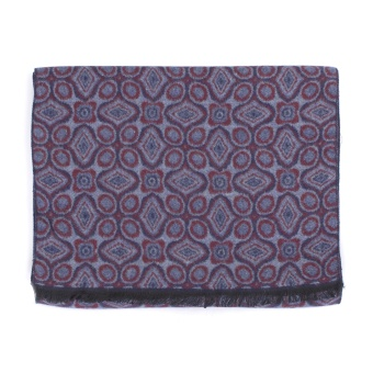 Medaillon Scarf Purple