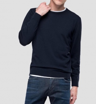 Hyperflex Sweater Merino Navy