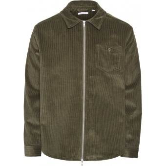 8 Wales Corduroy Overshirt Forrest Night